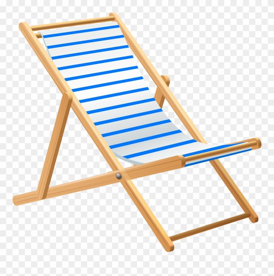 Beach Chair Transparent Png Clip Art.