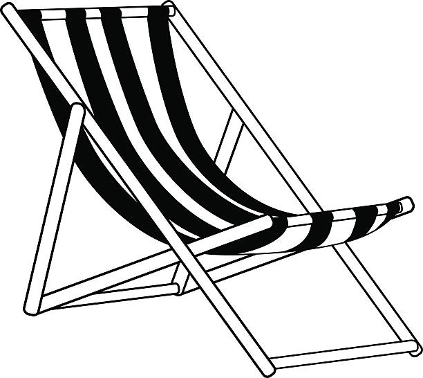 Best Beach Chair Illustrations, Royalty.