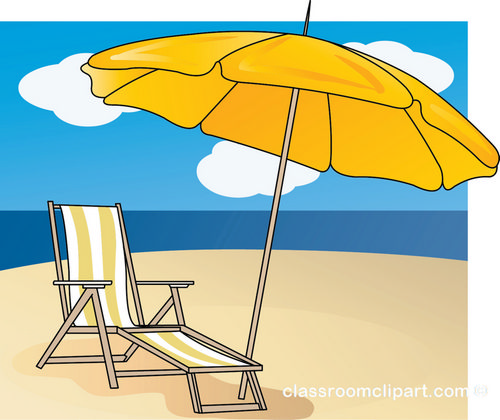 Beach Chair Clipart.