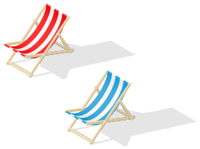 Beach Chair Clipart No Watermark.