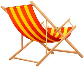 Beach Chair Clipart No Watermark.