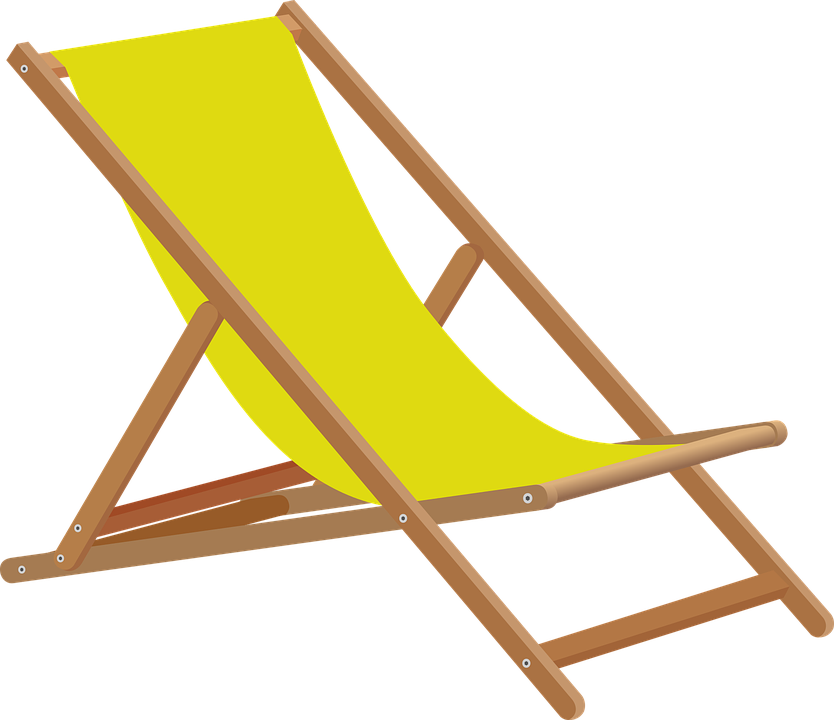 Beach, Chair.