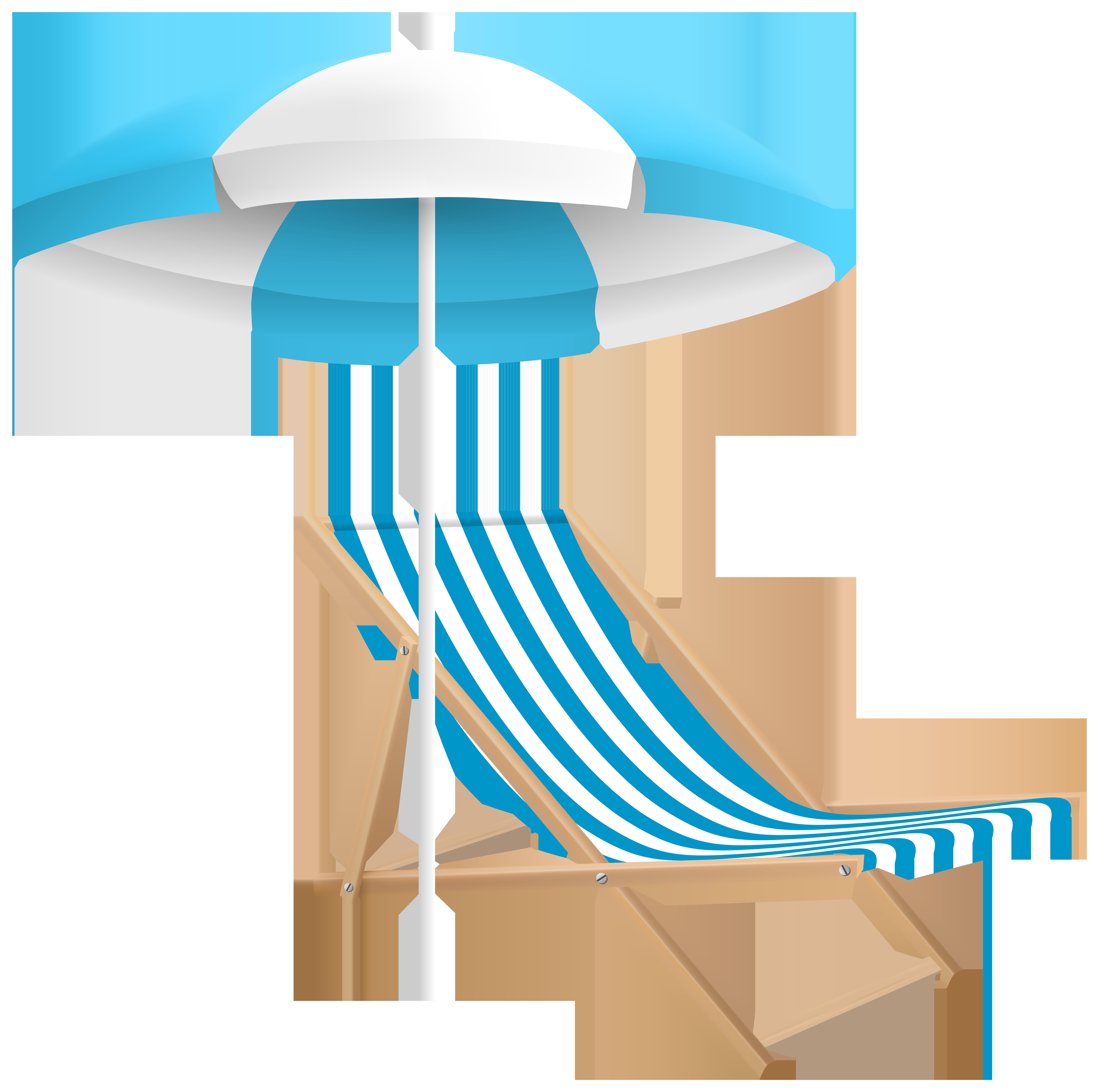 Beach Chair And Umbrella Png & Free Beach Chair And Umbrella.
