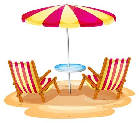 Beach chair clipart 2 » Clipart Station.