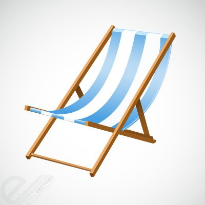 Beach chair Clipart Picture Free Download.