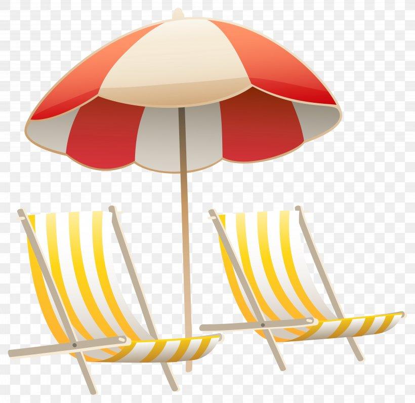 Chair Umbrella Beach Clip Art, PNG, 5720x5553px, Chair.