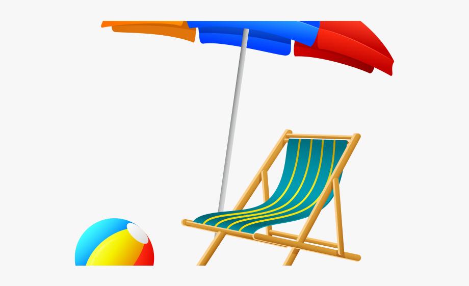 Beach Chair Clipart.