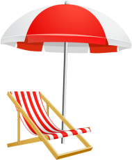 Download beach umbrella and chair transparent png clip art.