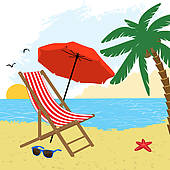 Beach chair Clipart Royalty Free. 3,792 beach chair clip art.