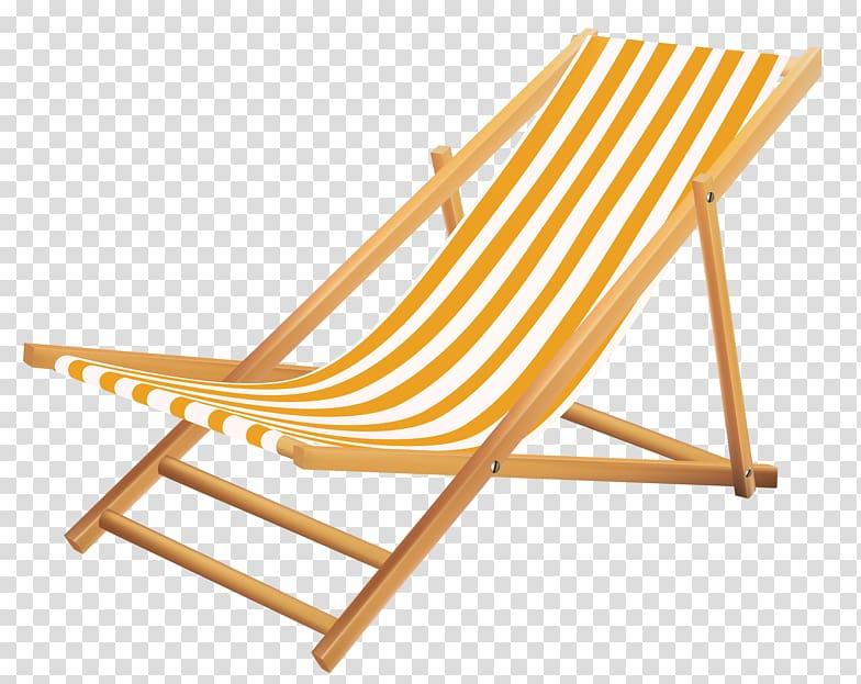 Chair Beach , beach chairs transparent background PNG.