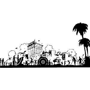 Beach & City clipart, cliparts of Beach & City free download (wmf.