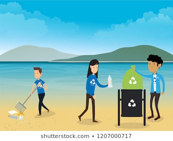 Beach Clean Up Clipart & Free Clip Art Images #29100.
