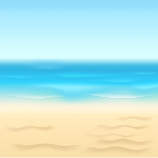 Beach Background Clipart Hd.