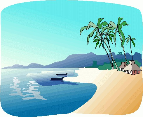 Beach clipart free images 9.