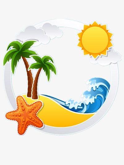 Summer Beach PNG, Clipart, Beach Clipart, Beach Clipart, Cartoon.