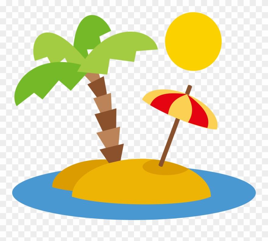 Beach Euclidean Vector Clip Art Landscape Design.