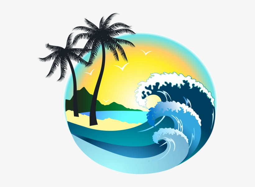 Summer Sea Decor Png Clipart Image.
