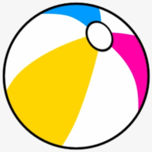 Beach Ball Clipart Tiny.