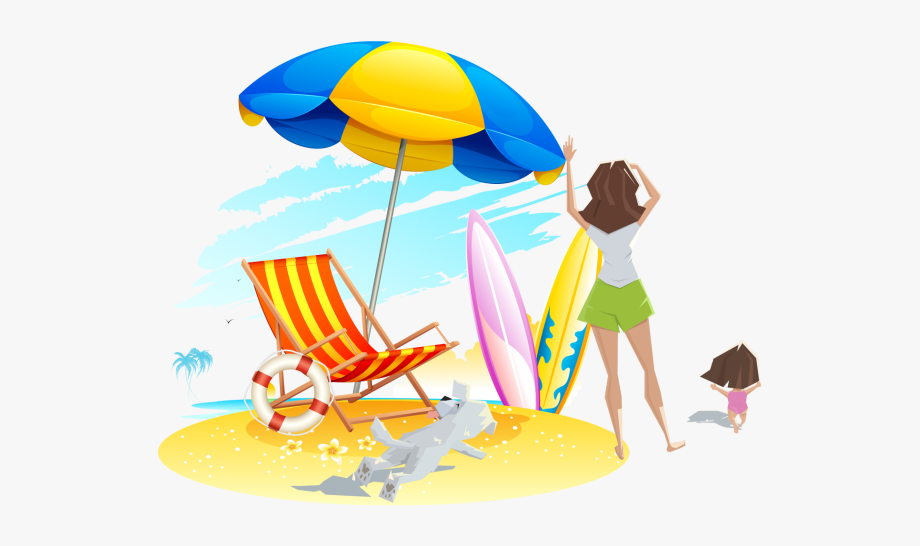 Sandy Beach Clipart Transparent.