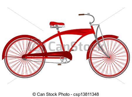 Cruiser Bike Clipart.