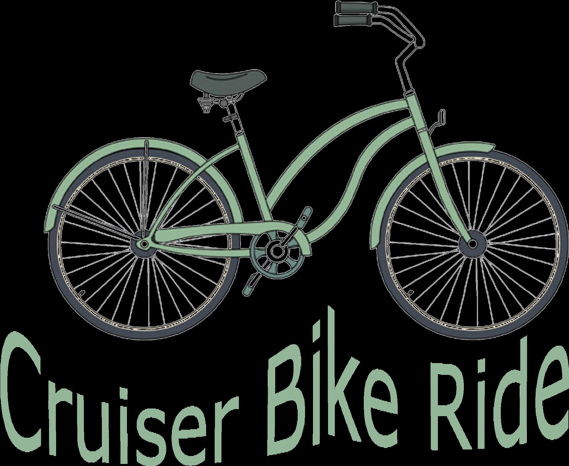Trending Beach Cruiser Bike Clipart.