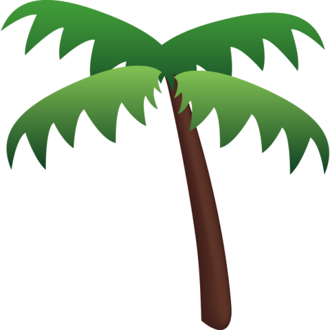 Palm Tree Emoji.
