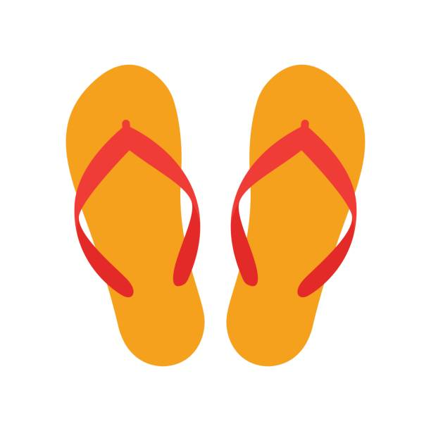 Best Flip Flop Illustrations, Royalty.