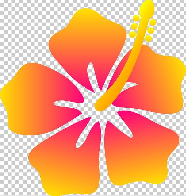 Hawaii Hibiscus Flower PNG, Clipart, Beach, Beach Flower Cliparts.