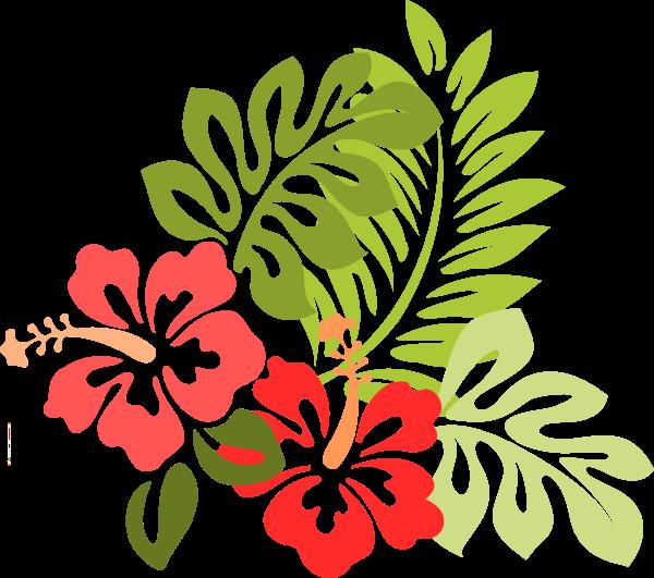 Beach Flower Cliparts.