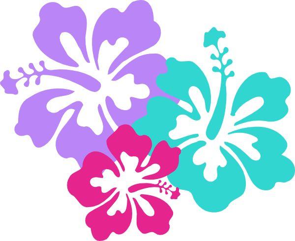 Beach Flower Clipart.