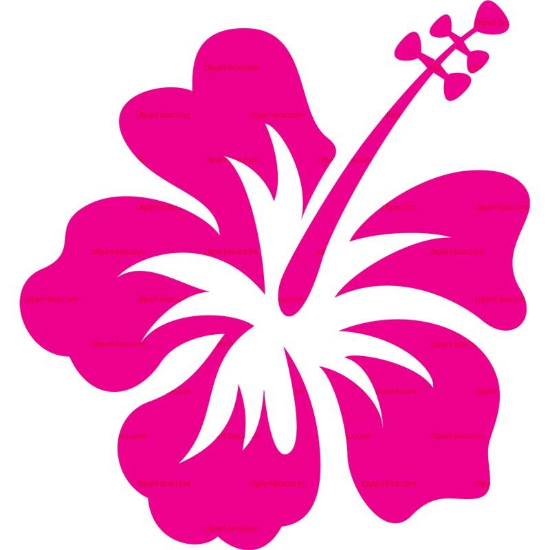 Clip Art Flower Bright Hawaiian Clipart.