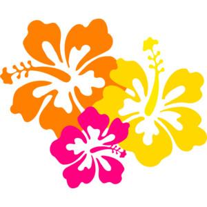 Hibiscus flower pictures clip art.