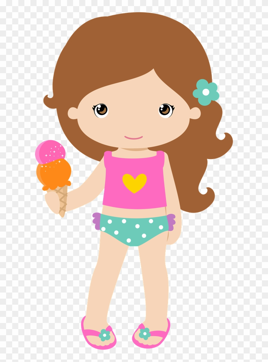 Girls ‿✿⁀○ Girl Clipart, Beach Clipart, Clip.