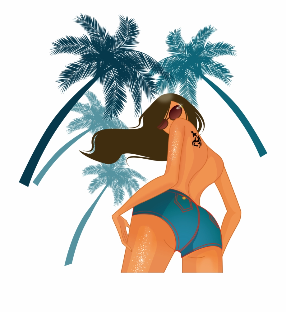 Beach Girl Png Free PNG Images & Clipart Download #82839.