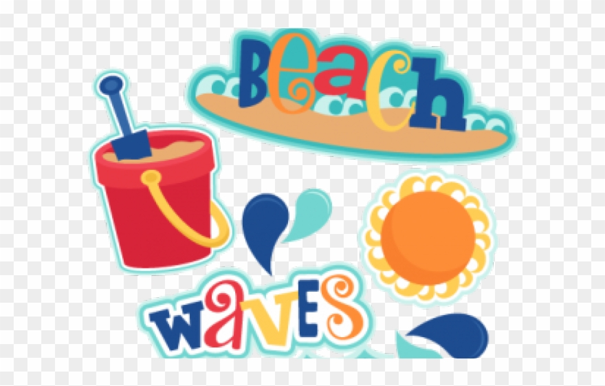 Happy Birthday Clipart Beach.