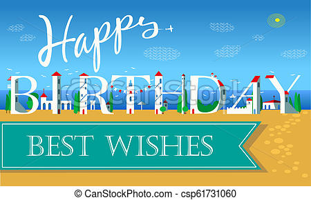 Happy Birthday. Best Wishes.