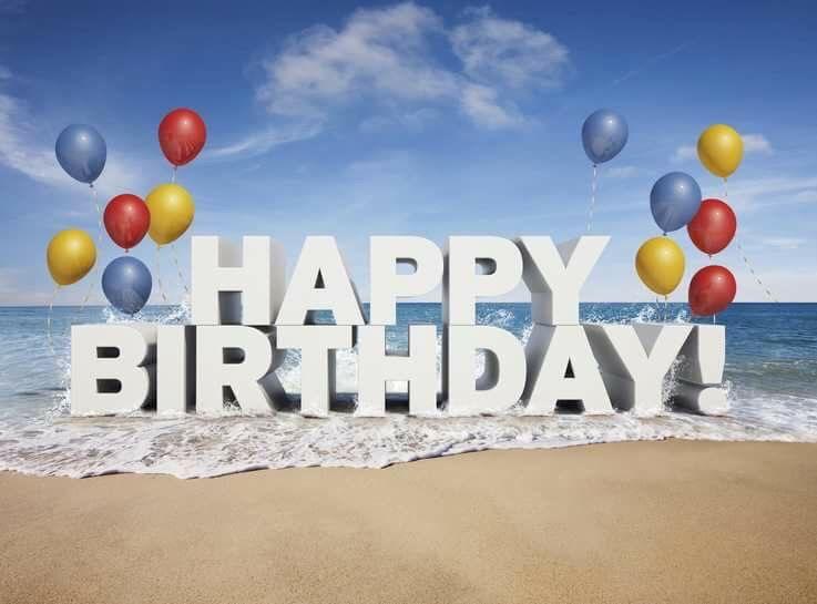 Happy birthday beach clipart 6 » Clipart Station.