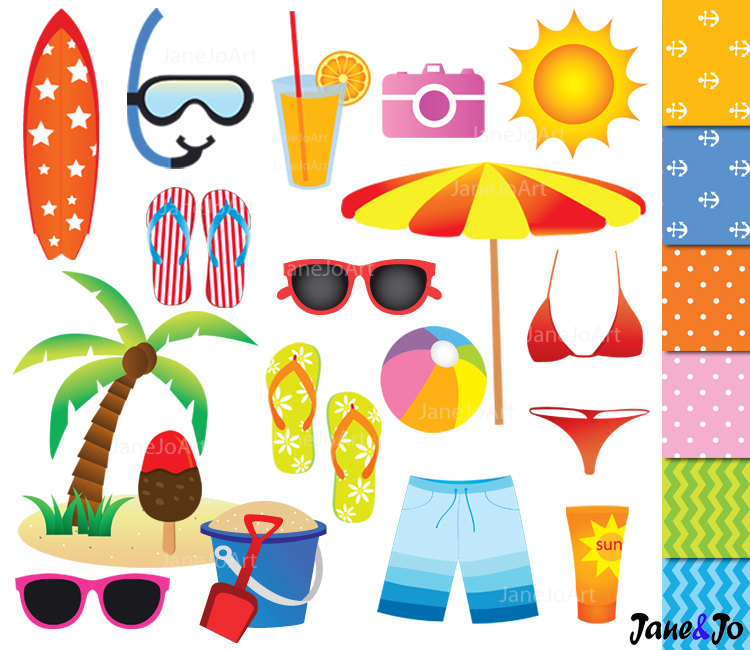 beach holiday clipart clipground