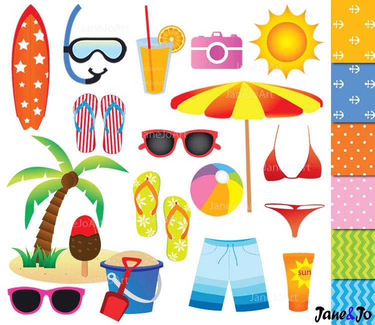 beach holiday clipart clipground