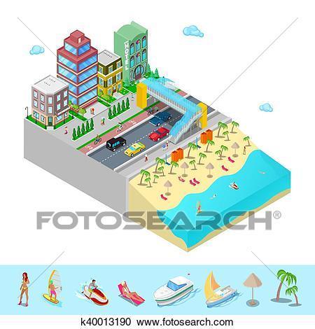 Beach hotel clipart 4 » Clipart Portal.