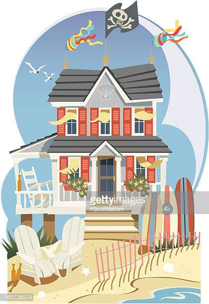 60 Top Beach House Stock Illustrations, Clip art, Cartoons, & Icons.