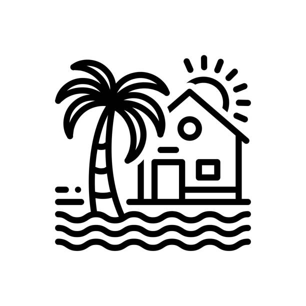 Top 60 Beach House Clip Art, Vector Graphics and Illustrations.