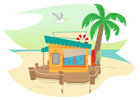 9,440 Beach House Cliparts, Stock Vector And Royalty Free Beach.