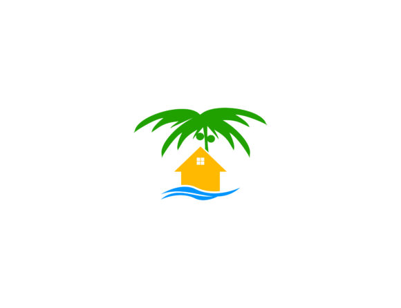 Beach house logo.