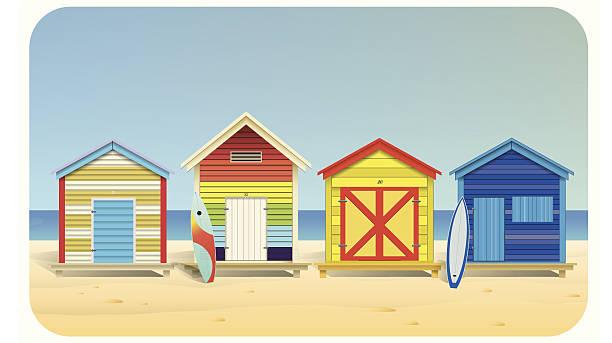 Beach Hut Clipart.