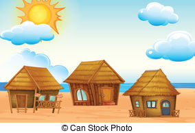 Beach hut Illustrations and Clipart. 447 Beach hut royalty free.
