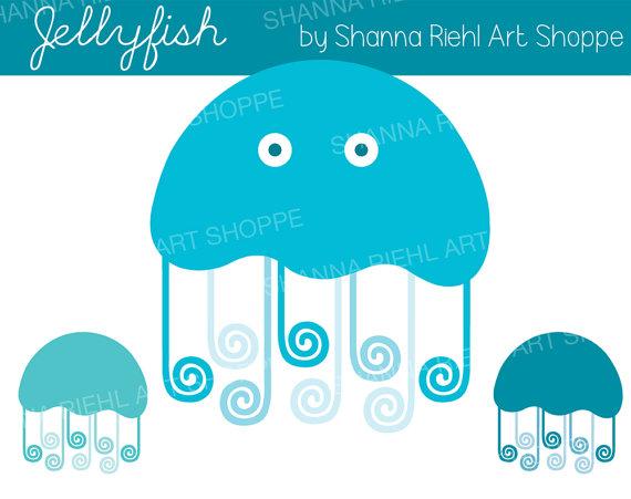 Jellyfish Clipart.
