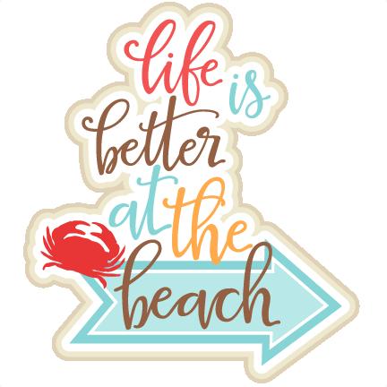 Clip Art Beach Life.