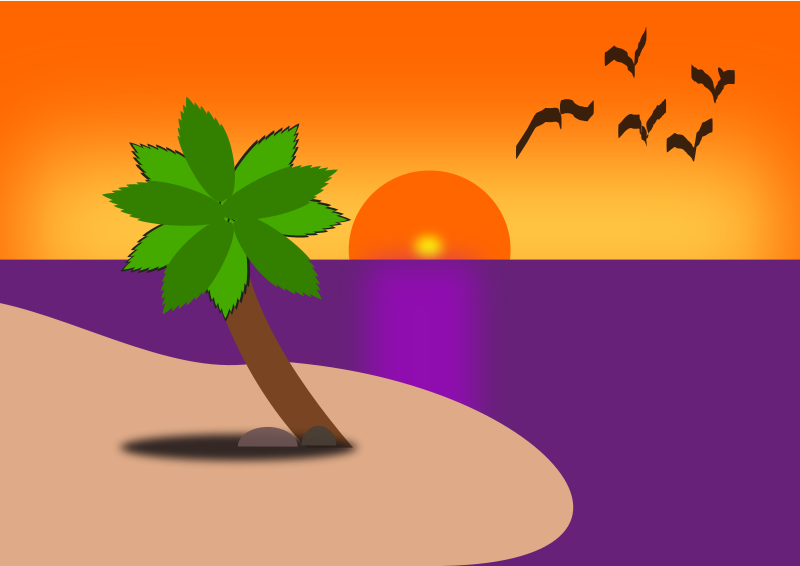 Beach oseano clipart #7