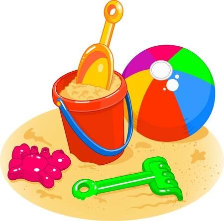 Beach Pail Clipart & Clip Art Images #20808.